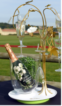 Magnum Perrier Jouet Champagne bottle - Chopard Polo Event