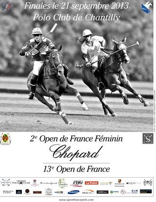 Affiche 2e open de France Féminin de Polo Chopard - Polo Club de Chantilly
