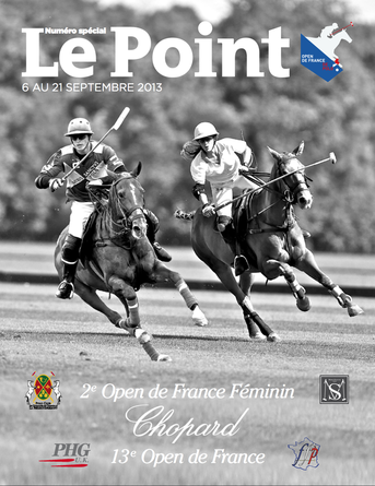 2ème Open de France Féminin de Polo Chopard - Couverture Le POint